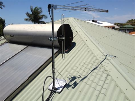 tile roof tripod mount how to install a metal roof tripod mount for a tv antenna