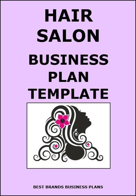 hair salon business plan template business finance hair salon business plan