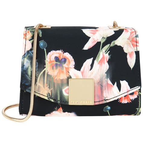 Cocolyn Keira Backpack Black ted baker keira opulent bloom clasp clutch bag in blue black lyst