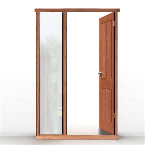 Door Framing by External Lpd Universal Hardwood Door Frame Shown With