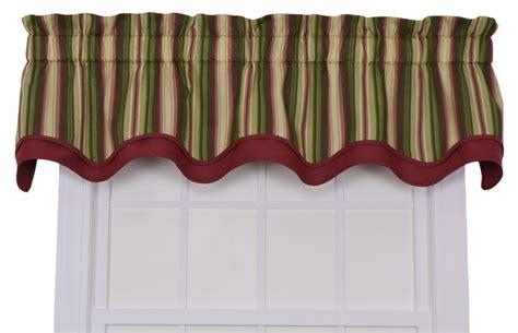 Bradford Valance ellis curtain montego stripe bradford valance window curtain green green ebay