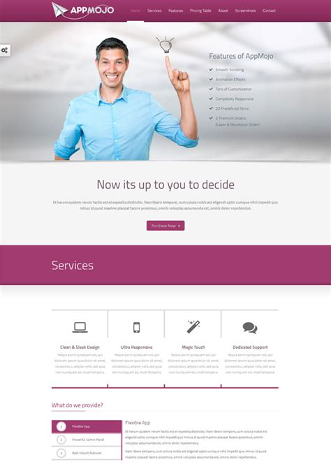 templates for technology website 10 premium html technology web templates