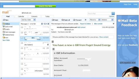outlook layout email preview preview msn s new hotmail kahuna