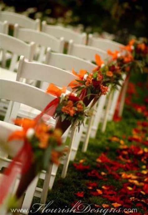 outdoor wedding decoration ideas for fall 10 fall wedding decorations