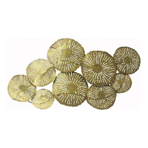 large circles wall decor gold products moes wholesale