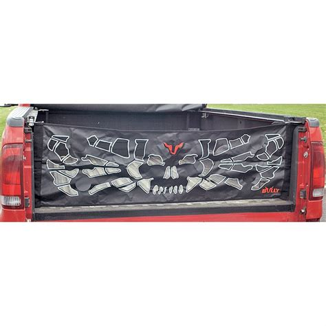Bully Truck Accessories Canada Bully 174 Skull Tailgate Net 101145 At Sportsman S Guide