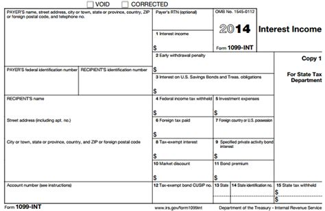 1099 template free understanding tax form 1099 int novel investor