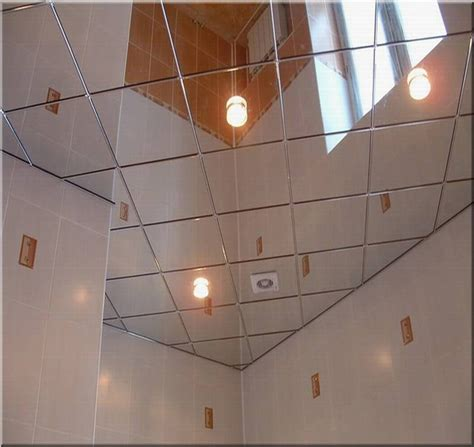 Mirror Drop Ceiling Tiles Strong Mirror Ceiling Tiles For High End Reflective