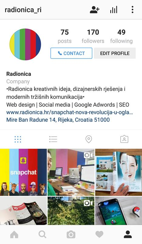 video format za instagram instagram poslovni profil pravi put do novih klijenata