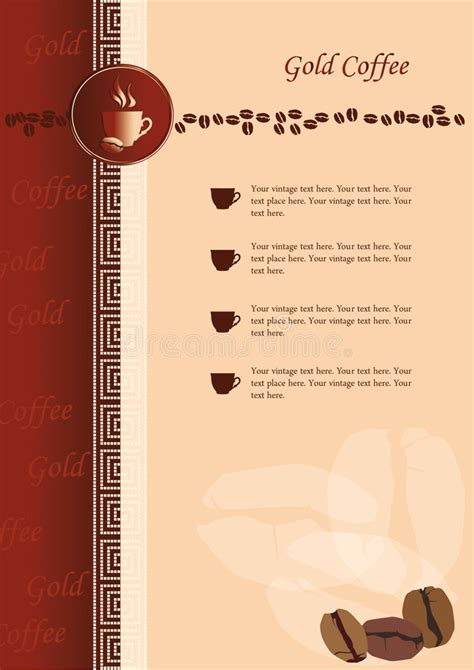 banner design coffee shop restaurant menu stock vector 699560560 design of menu for coffee shop and restaurant stock vector