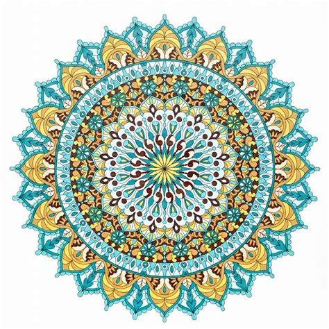 colored mandala best 25 mandala coloring ideas on mandala