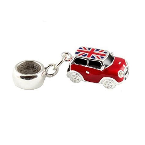 Buy Sterling Silver Red Mini Cooper Car Dangle Bead /Charm To Fit Pandora Troll Chamilia Biagi
