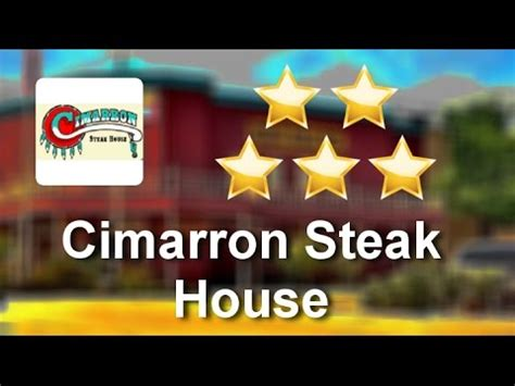 cimarron steak house cimarron steak house oklahoma city superb 5 star review by nick t youtube