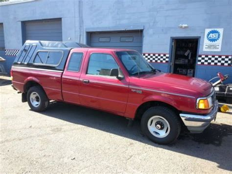 1994 ford ranger facts purchase used 1994 ford ranger xlt extended cab pickup 2 door 2 3l in trenton new jersey