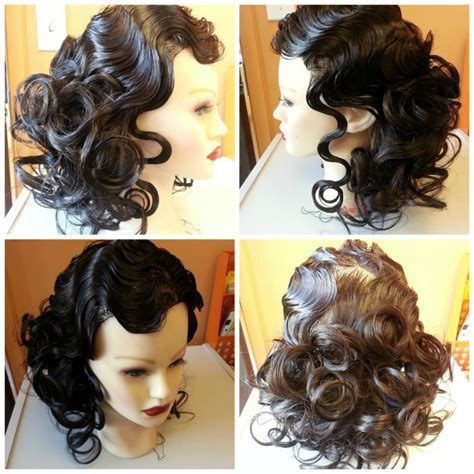 pin curls wikipedia how to do pin curls on american hair finger waves and