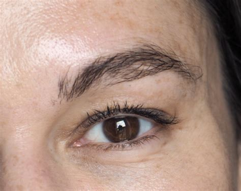 tattoo peeling off maybelline brow easy peel tint review