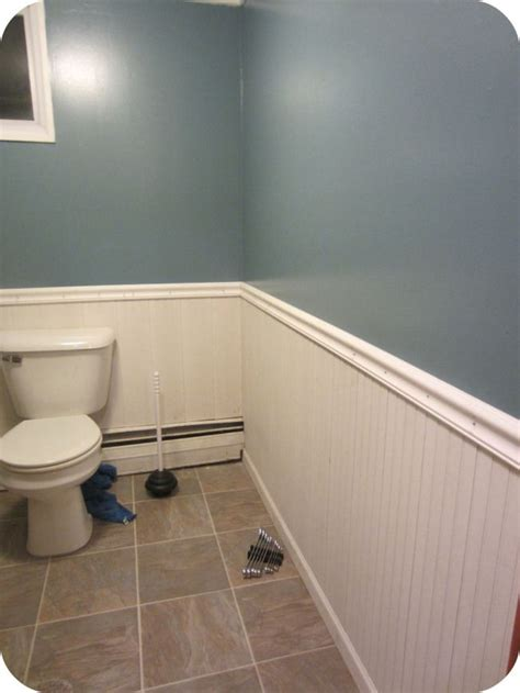 wainscoting ideas for bathrooms bathroom wainscoting for the home