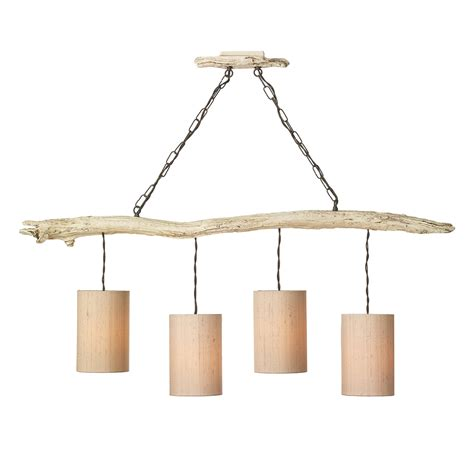 Driftwood Pendant Light Driftwood 4 Light Pendant