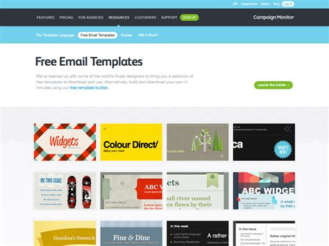 design html email template the ultimate guide to email design webdesigner depot