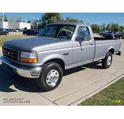 1996 Ford F250 XL Regular Cab In Silver Frost Pearl