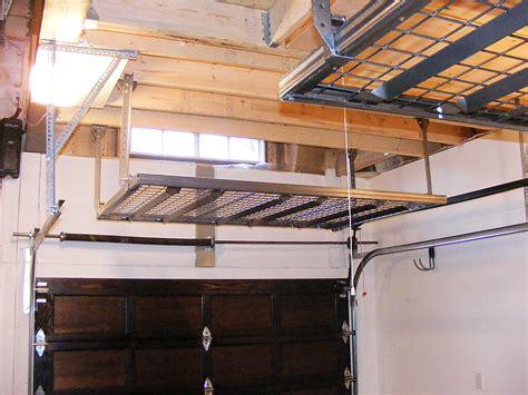 Overhead Garage Door Storage Building A Garage Loft For Storage Decor23