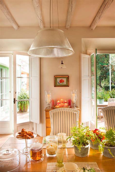 como decorar una cocina de casa de campo
