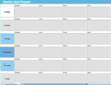 daily meal planner template 2016 leave planner template calendar template 2016