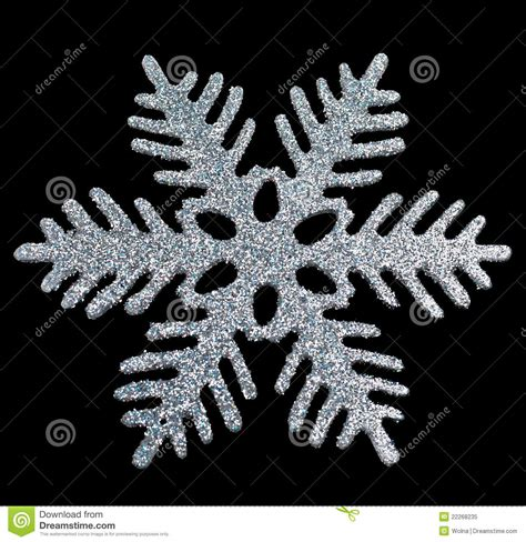 christmas snowflake decoration stock image image 22268235