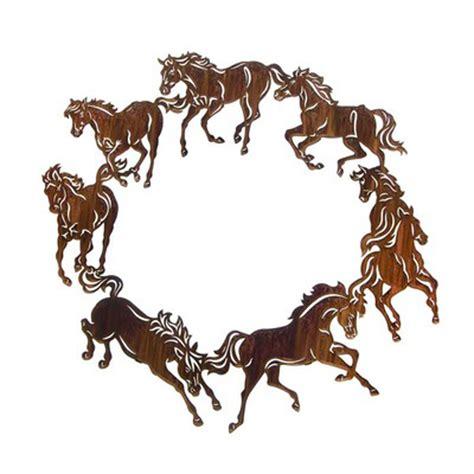 Metal Art Decor Horse On Wall Clipart Best