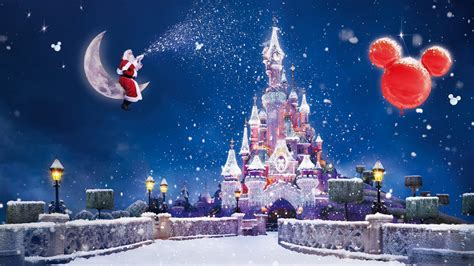 happy christmas   year santa claus  disney full hd