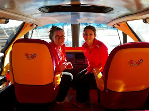 Oscar Mayer Wienermobile Interior by Rrn Ketchup Kelle And Mustard Molle Inside The Wienermobile