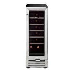 home depot wine fridge whynter 18 bottle built in wine refrigerator in stainless