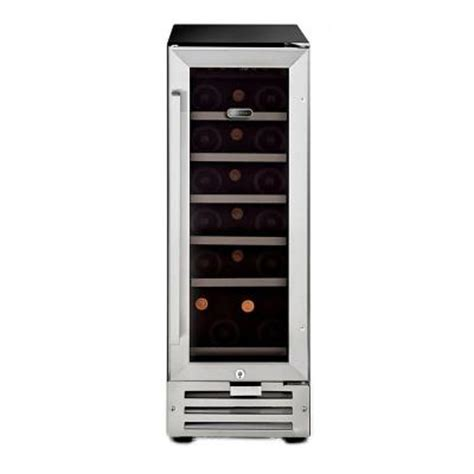 whynter 18 bottle built in wine refrigerator in stainless
