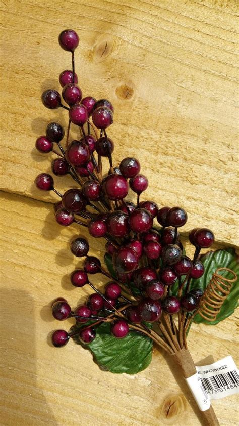 1 or 3 large berry berries christmas picks wreaths tress