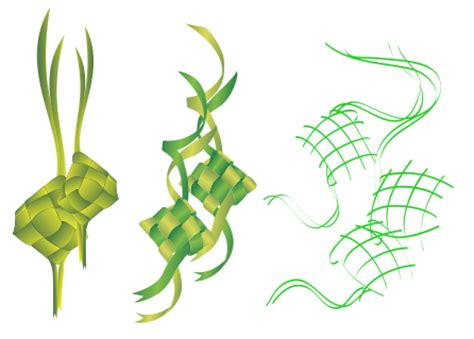 format gambar svg gambar clipart ketupat collection stock illustrations
