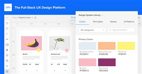 uxpin pattern library uxpin the full stack ux design platform