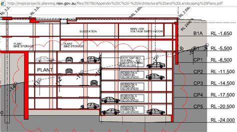 basement parking section basement parking detail section www pixshark com