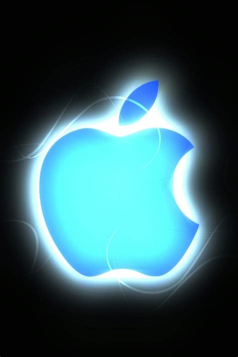 wallpaper apple for iphone 4 blue apple logo iphone 4 wallpaper and iphone 4s wallpaper