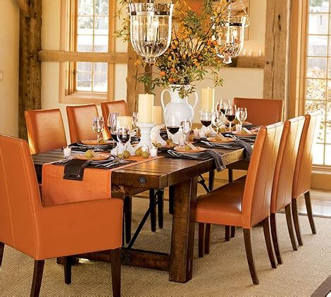 barn style dining room table distressed wood dining table from pottery barn new