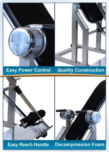 power inversion table price teeter power vi inversion table with gravity lock ratchet