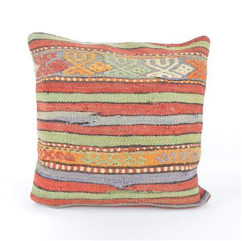 throw pillow ethnic kilim pillow cover bohemiantribal