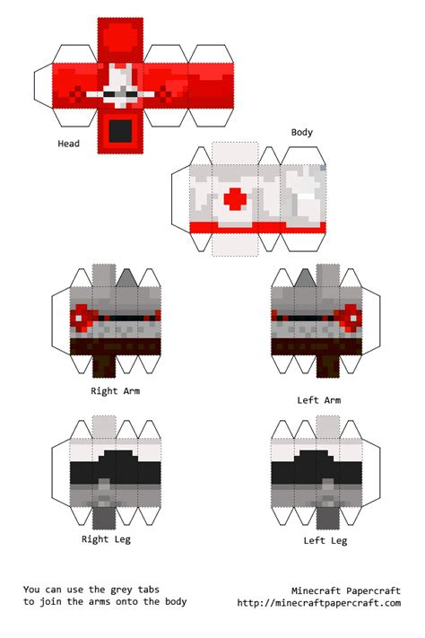Castle Crashers Papercraft - papercraft castle crashers