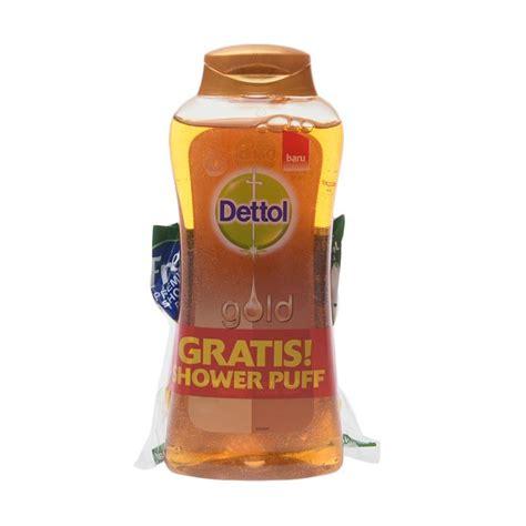 Sabun Dettol Gold jual groceries dettol gold wash classic clean 300 ml shower puff harga