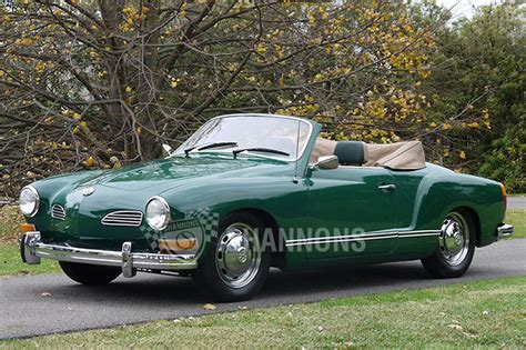 vw sales sold volkswagen karmann ghia convertible lhd auctions