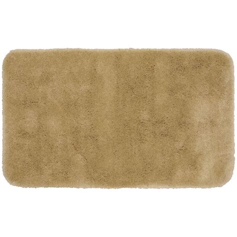 luxury bathroom rugs finest luxury taupe brown 30 in x 50 in washable