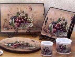 Grapes Home Decor Kitchen Decor Grapes Home