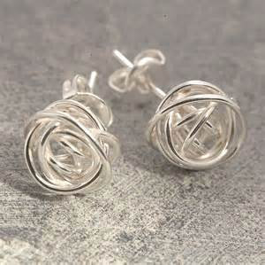 ear rings pic nest stud silver earrings by otis jaxon silver jewellery notonthehighstreet