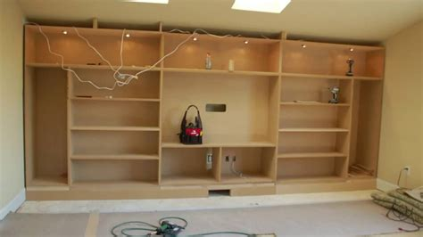 diy wall unit entertainment center built in entertainment center youtube