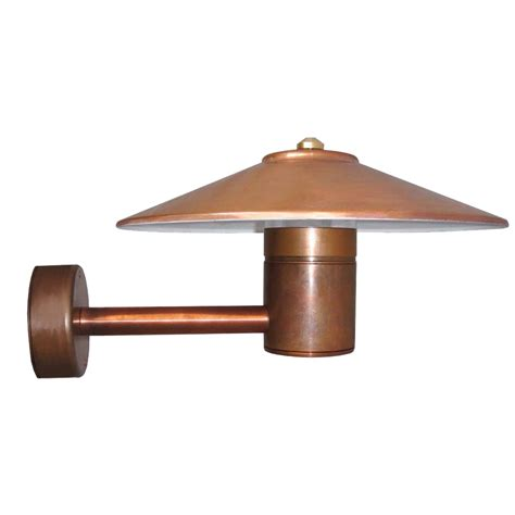 Hunza Outdoor Lighting Hunza Outdoor Lighting Hunza Outdoor Lighting Tier Light Wall Mount Retro Copper Mains