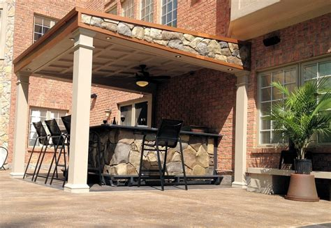 Outside Bars For Patio by Triyae Custom Outdoor Bars For Home Various Design